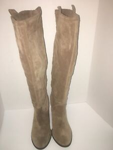 Size 11 - Vince Camuto Taupe Suede boot