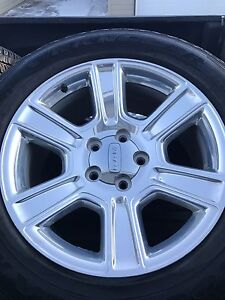 "20"" Dodge Ram chrome rims/ tires"