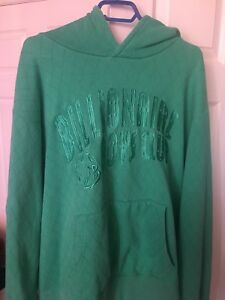 Billionaire Boys Club light green quilted hoodie 3xl