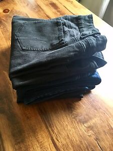 14 Pairs of Brand Name Jeans/capris & leggings All Size 16