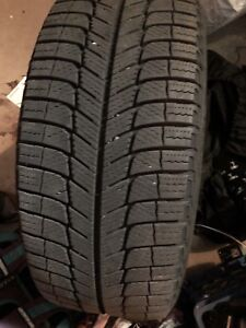 4 Mercedes Winter tires with mags 225/45R17