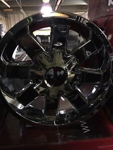 "4-Ford F-150/Chevy 1500 17"" Ion 141 Chrome Alloy Rims!!!!"