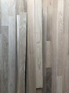 Planches de bois franc brute en chêne blanc pour plancher