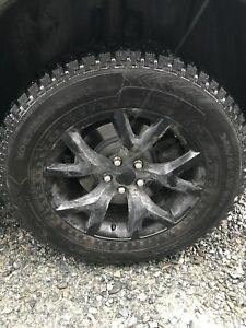 Great price studded winter tires/upgraded rims