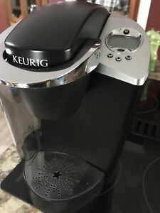 SOLD - Keurig Coffee Machine with K-Cup pod holder.