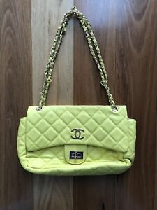 Chanel bright yellow bag Kilburn Port Adelaide Area Preview
