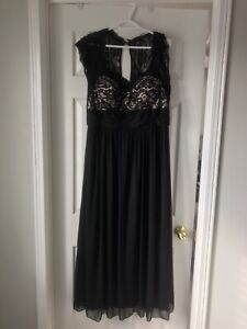 Gorgeous - worn once-Black Gala/Bridesmaid gown