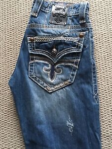 b7b8bce10 Men s rock revival jeans