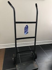 Small hand truck (dolly) good for 175lbs solid rubber tires