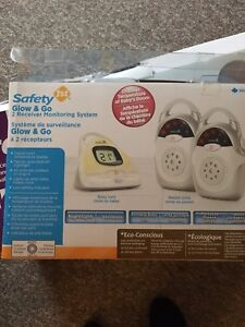 Safety First Glow & Go baby monitor