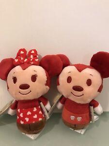 Disney itty bitty Minnie and Mickey