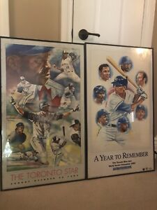 Toronto Blue Jays World Series Posters
