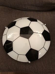 Soccer ball hanging light