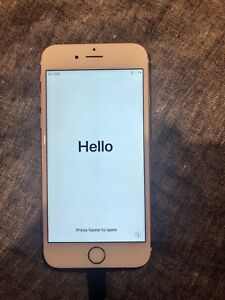 iPhone 6s 64gb rose gold and black