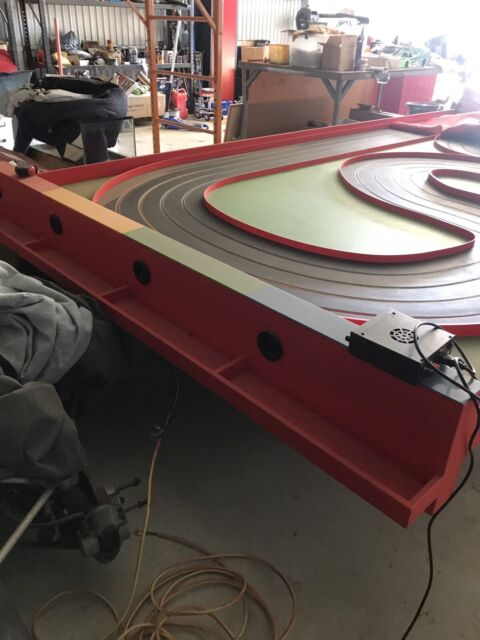 slot car track timber routed 5 0meter x 2 4