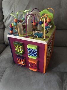 B. Toys Zany Zoo Activity Block