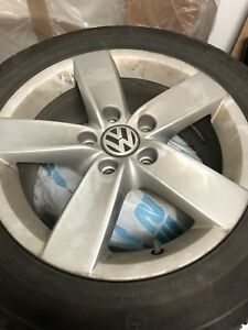 Continental 16inch winter tires with mags VW
