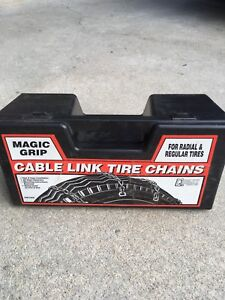 Kelowna- magic grip cable link tire chains