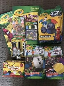 New Crayola craft pack including paint chalk  and model magic Barton South Canberra Preview