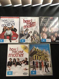 How I met your mother DVDs