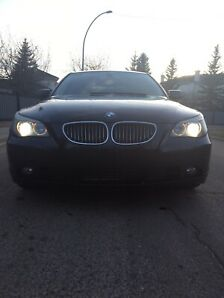 2004 BMW 545i, low kms, clean carfax