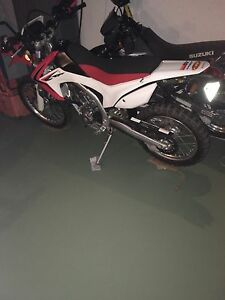 2013 Honda crf250l price drop