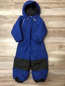 Mec toaster Navy blue 4T one piece snow suit snowsuit