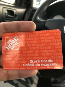 home depot $ 1000card for $800