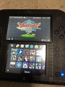 Cfw 2ds with over 30 games and 64GB mem card MINT