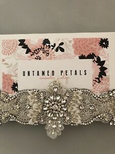 'Untamed Petals' Adelaide wedding sash/belt