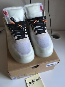 NIKE AIR FORCE OFF WHITE 1 SIZE 11