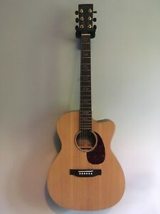 Sigma by Martin electric-acoustic guitar
