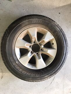 Brand new tyre and Toyota  245/70-17