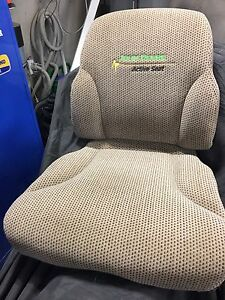 Johndeere cloth seat cushions