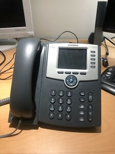 Cisco SPA525g2 colour VOIP phone