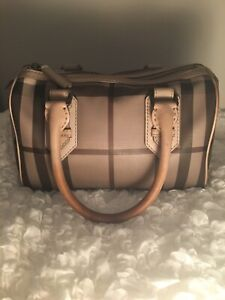 Authentic Burberry Bowling Bag