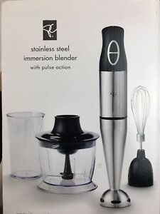 Stainless Steel Immersion Blender