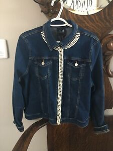 FDJ Jean jacket never worn tags still on it