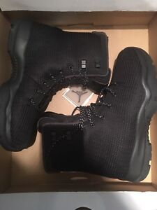 Nike Jordan Future Boots Black sz 9.5 Waterproof