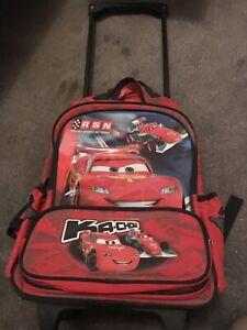 Hospitable Disney Cars Mcqueen Backpack Kids Boys Backpacks & Bags
