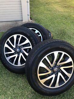 Navara  2018 STX D23 New Wheels and Tyres Redland Bay Redland Area Preview
