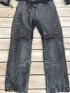 REDUCED Icon Leather Pants Size 34
