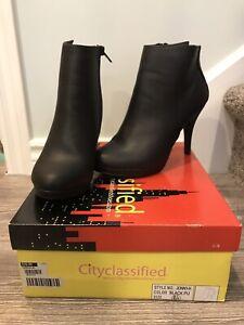 New Stiletto Ankle Boots Sz 6.5