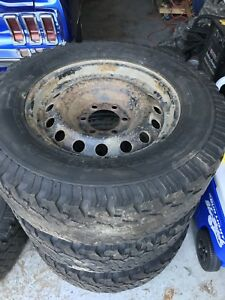 6 bolt Toyota Tacoma, chev silverado, GMC Sierra rims and tires