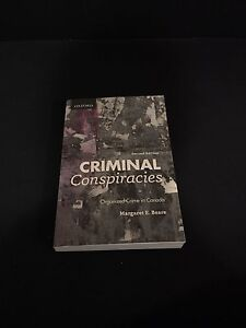 Criminal Conspiracies: Organized Crime in Canada 2nd edition