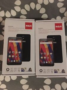 2 X RCA 5' Android Smartphones