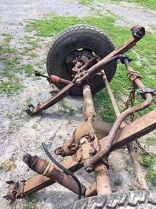3/4 ton axels from 1986 K20 Chevy