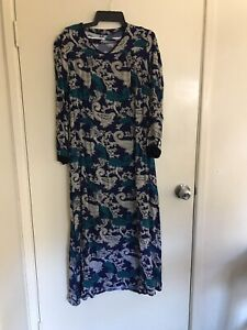 Rayon Hand tailored boho maxi dress size 12 never worn Highgate Hill Brisbane South West Preview
