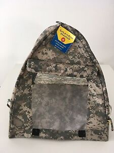 BuildABear digital camouflage tent toy