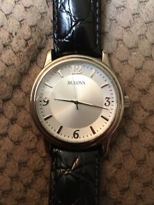 Bulova Quartz Watch 1985-90